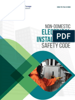 Non-Domestic Electrical Installation Safety Code