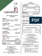 9-Lines Newsletter  -  September 2 - 9, 2010