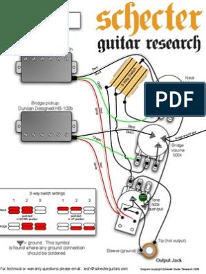 schecter c1 plus | string instruments | music technology  scribd