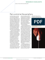 control del dolor periferico