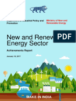 New and Renewable Energy Achievement Report