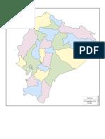 Mapa Mudo Del Ecuador