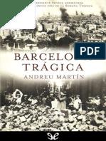 Barcelona Tragica - Andreu Martin