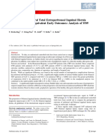 Bilateral and Unilateral Total Extraperitoneal Inguinal Hernia