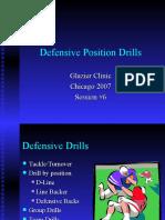 Defensive Position Drills
