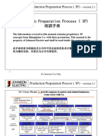 Johnson Electric - Production Preparation Process(3P) Training Material