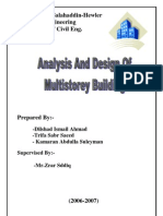 Analysis and Design of Multi Storey Building