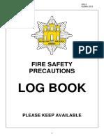 FP2 5 Maintenance Log Book (October13)