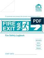 NLA Fire Safety Logbook