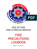 Fire Precautions Log Book