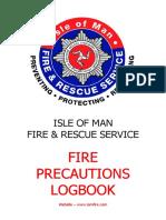 Fire Precautions Log Book