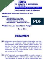 Resumen Del Proyecto de Etilbenceno