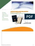 Aerothermochemistry 1958-2008. Gregorio Millán y el Grupo de Combustión