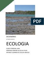 Dicionário de Termos Usados Em Ecologia