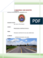 Procesos de Carretera
