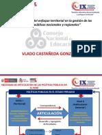 Vlado castañeda Gonzales  - politicas publicas