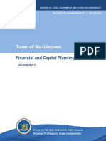 Town of Marbletown Financial and Capital Planning Audit Report