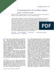 Cerebral edema - medical management.pdf