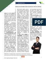 Português para Estrangeiros - Lição 11 - Texto 01 - Rotina Das Pessoas de Sucesso. Presente do Indicativo