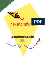 Presentación Unidad Didáctica