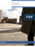 Digital Democracy Armenia Report 2009