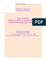 integrated agriculture call centre bid document final.doc