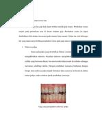 Diskolorasi Gigi Menurut Teori Lain