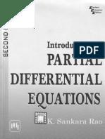 4.Partial Differential Equation by K-Sankara-Rao