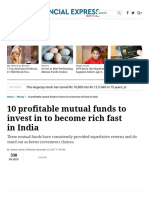 10 Profitable Mutual Funds to Invest in to Become Rich Fast in India - The Financial Express