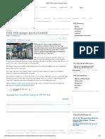 CNR-CSR Merger Moves Forward