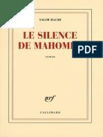 Le Silence de Mahomet