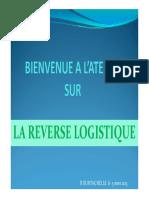 Logistique Inverse - La Traçabilité Des Déchets [Mode de Compatibilité]