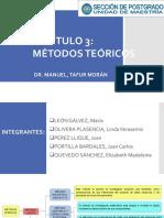 Capítulo 3 Metodos Teóricos