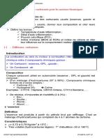C1- Choix Des Carburants Pour Les Moteurs Thermiques