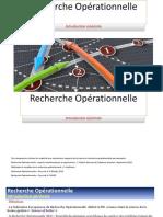 Recherche Opérationnelle - Transparents