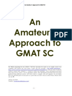 Amateurs GMAT Notes 2006 SC