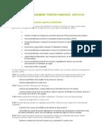 Măsuri de Management Pentru Habitate