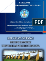 1. Kebijakan Pengembangan Profesi Guru (Materi PPG Dalam PLPG 2016)(1)