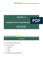 Lecture 12 - Working With Raster Data in QGIS