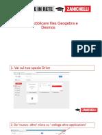 Condividere File Geogebra e Desmos