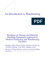 Warehousing concepts