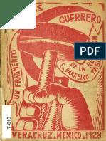 Barreiro Tablada, Enrique - Práxedis, Un Fragmento Guerreo de La Revolución - [Ed. Norte. México 1928]