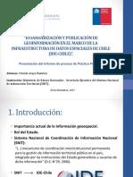 Estandarización y Publicación de Geoinformación En