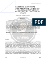 Kecerdasan Emosi - Sekolah Swasta a Case Study Emotional Intelligence Among Teachers of Warangal District in Telangana State Ijariie2719