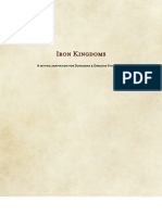 Iron Kingdoms 5th Dnd