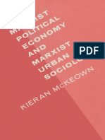 Kieran McKeown Auth. Marxist Political Economy and Marxist Urban Sociology a Review and Elaboration of Recent Developments