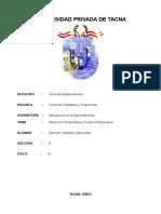 Absorción Empresarial y Fusión Empresarial.doc