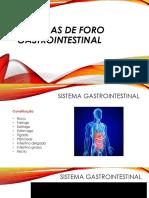 Doenças de Foro Gastrointestinal