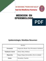 2.-Medicion en Epidemiologia