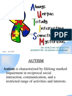 Autism - Ms Office